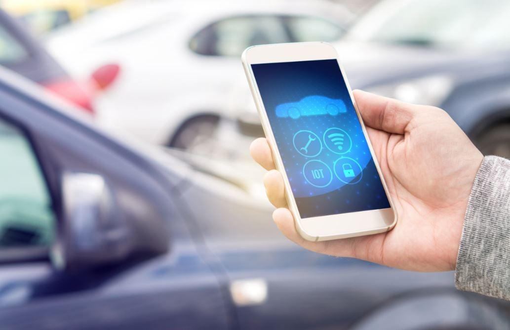 Aplicación para coches en el móvil.