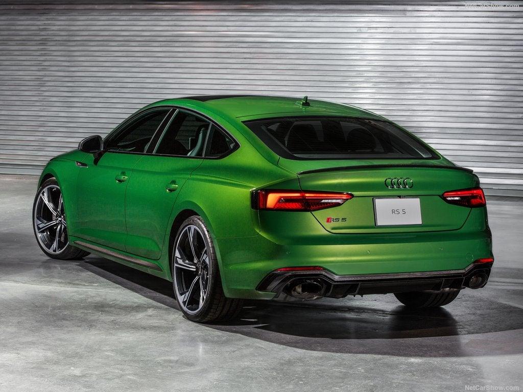 Audi RS5 Sportback: trasera