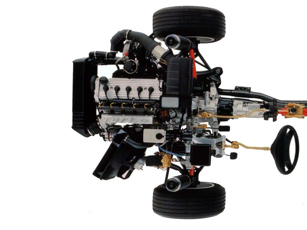 Audi Sport Quattro: motor