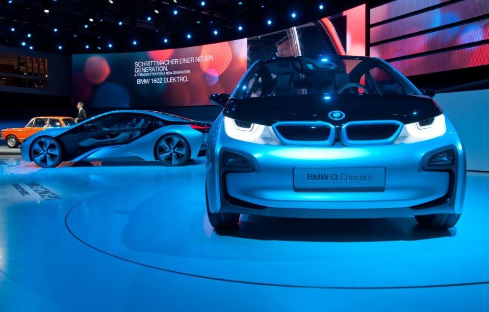BMW i8 y i3