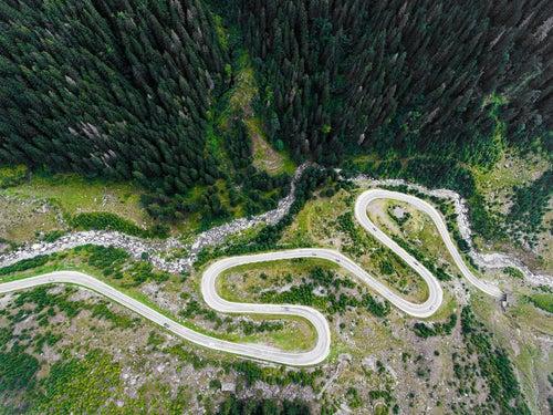 Carretera Transfagarasan de Rumanía