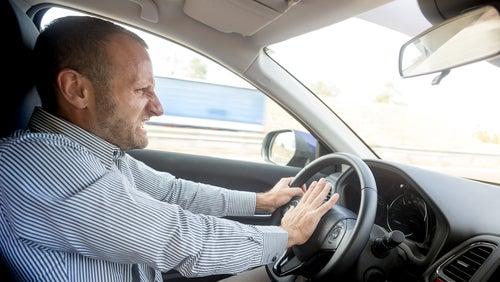Conducir tenso