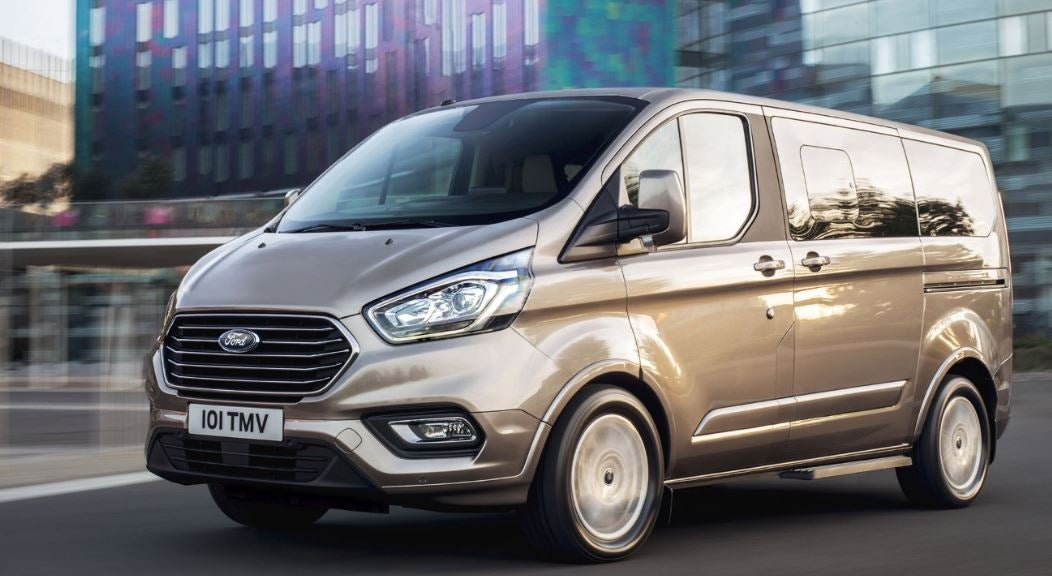 Diseño del Ford Tourneo custom.