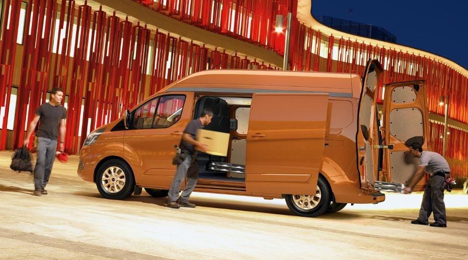 Diseño del Ford Transit Custom.