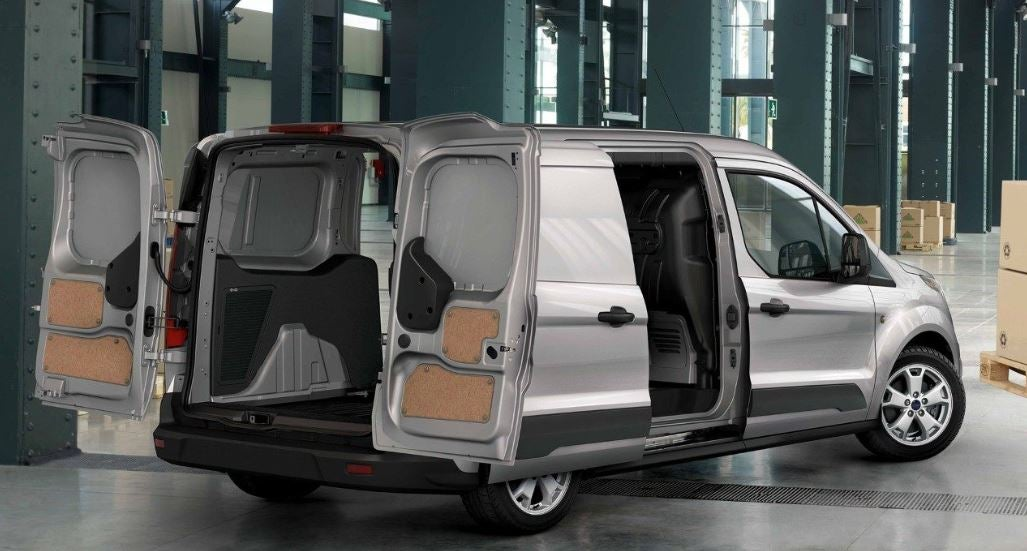 Espacio de carga del Ford Transit Connect.