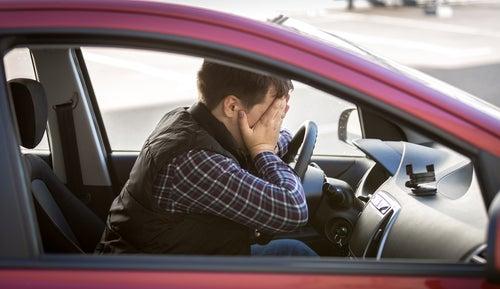 Estrés en el coche