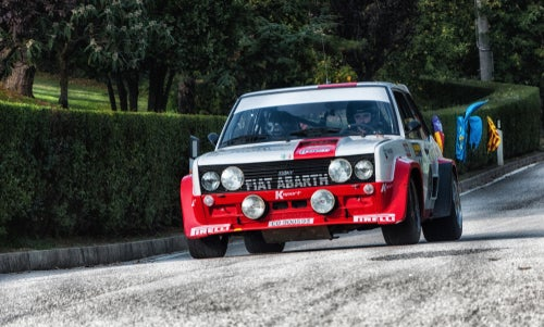 Fiat 131 Abarth rally: frontal