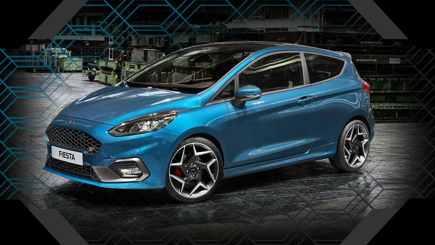 Ford Fiesta ST: frontal
