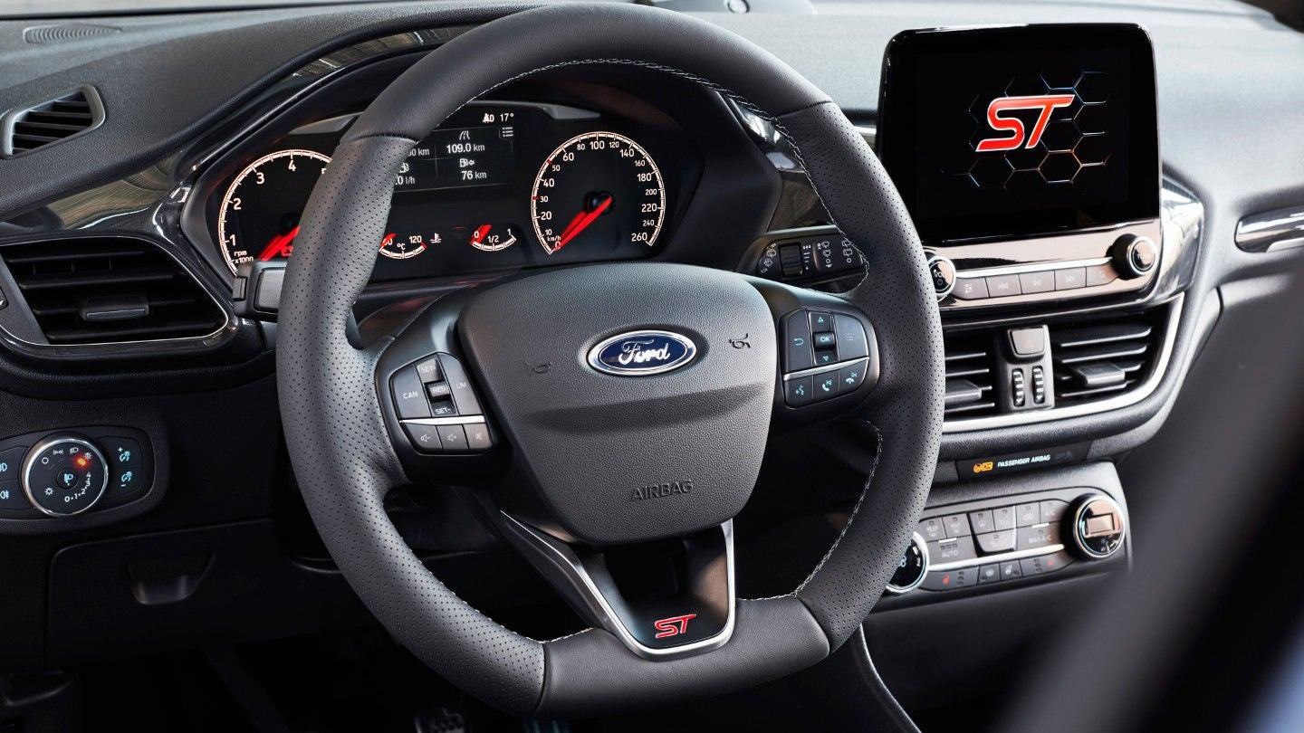 Ford Fiesta ST: interior