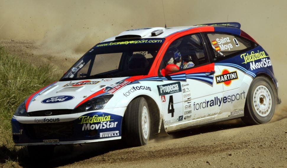 Los coches de Carlos Sainz