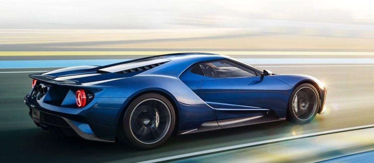 Nuevo Ford GT.