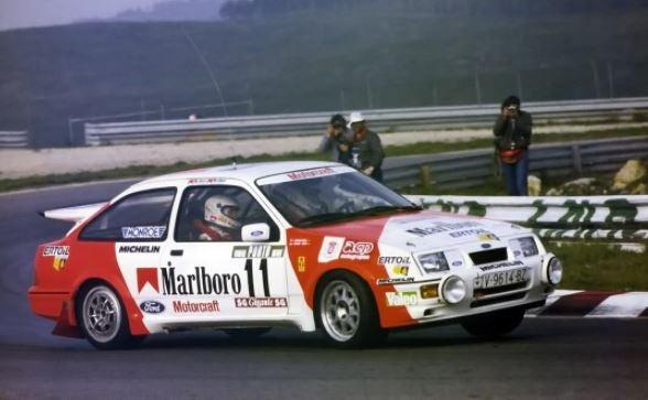 Ford Sierra Cosworth de Carlos Sainz.