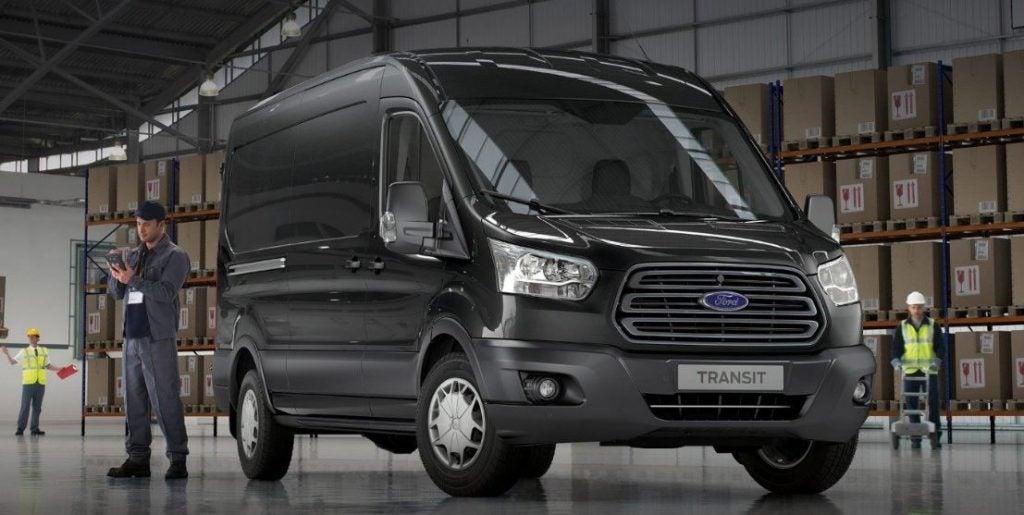 Ford Transit, un furgón de carga