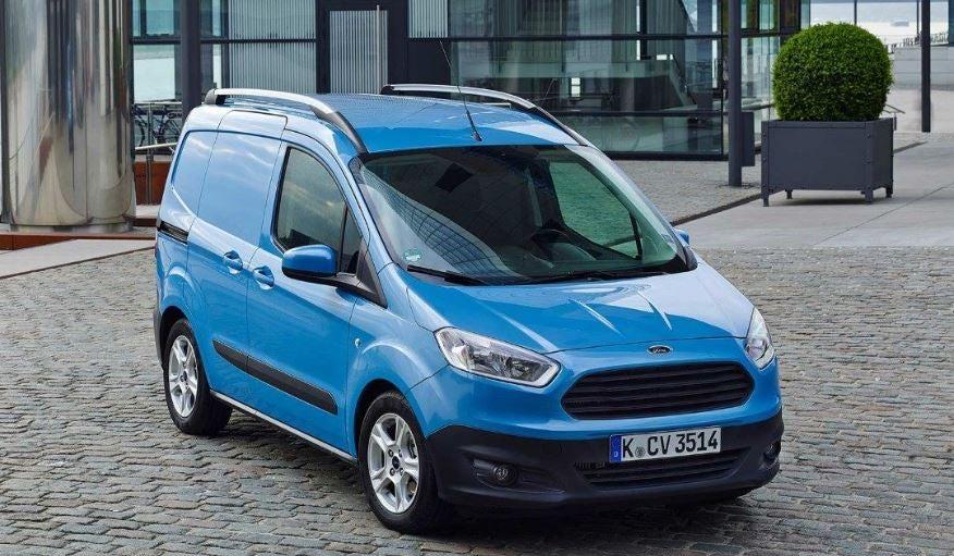 Ford Transit Courier, el minicarguero