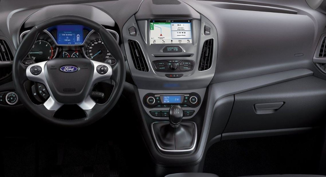 Interior del Ford Tourneo Connect.