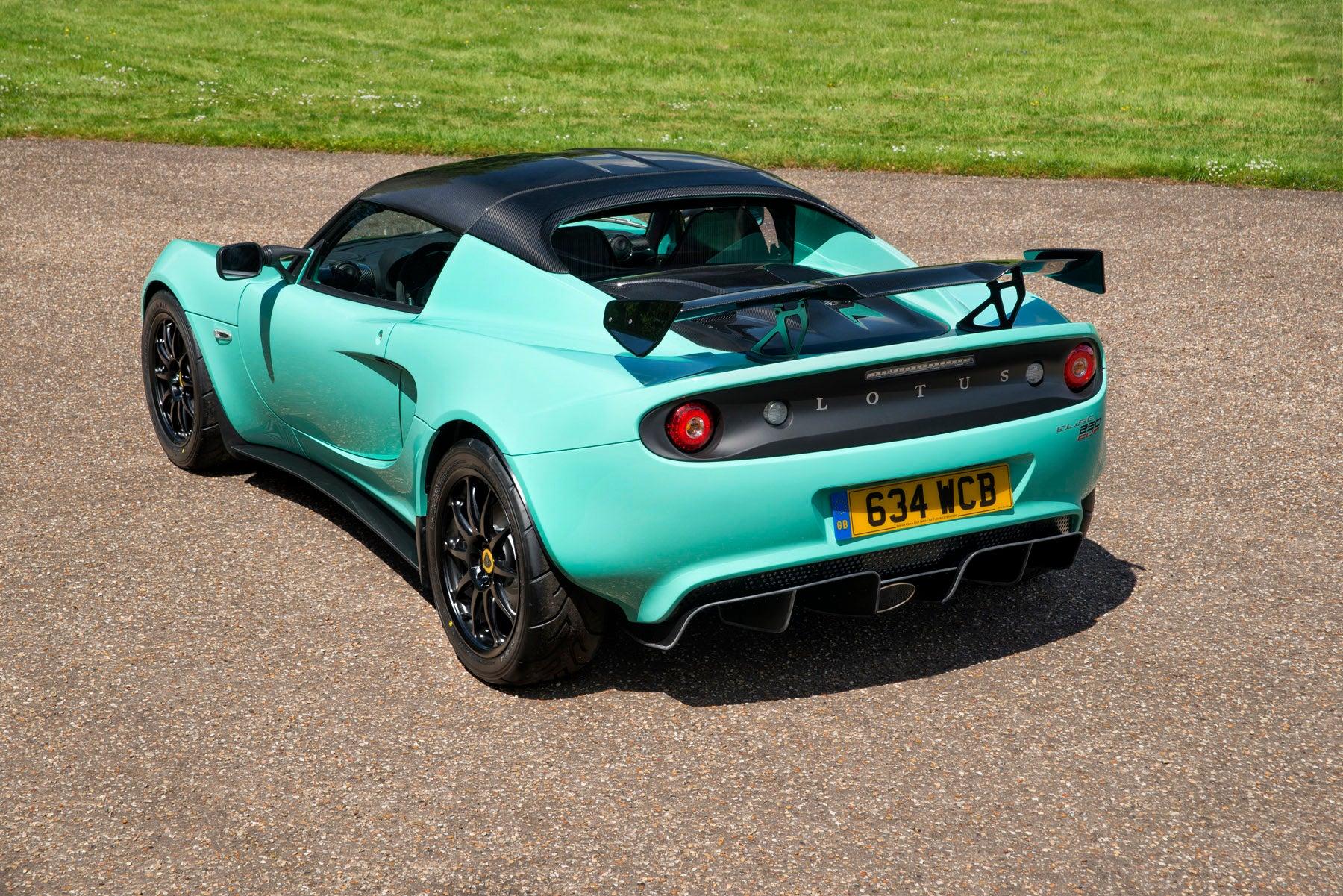 Lotus Elise Cup 250: trasera