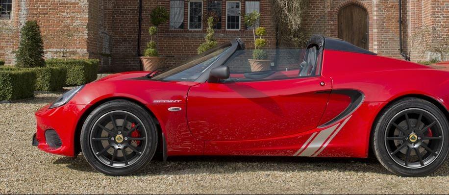 Lotus Elise Sprint/Sprint 220, pequeño, liviano y potente