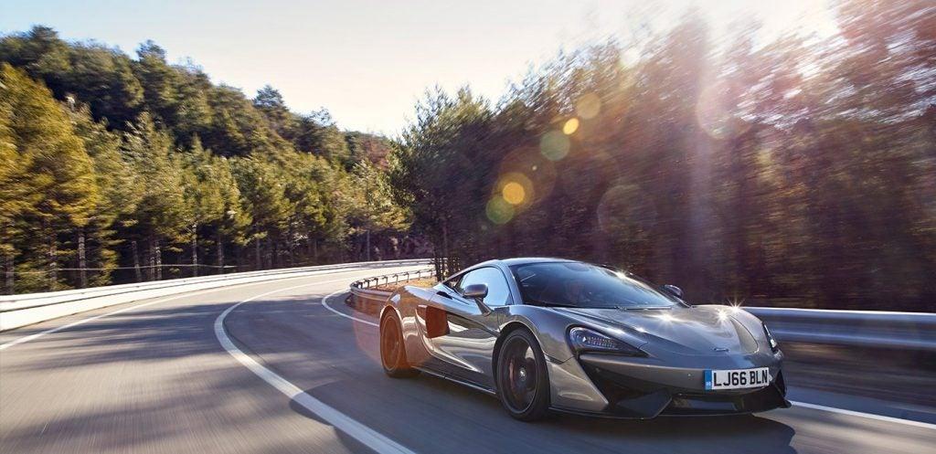 McLaren 570S, el pequeño de la familia de Woking