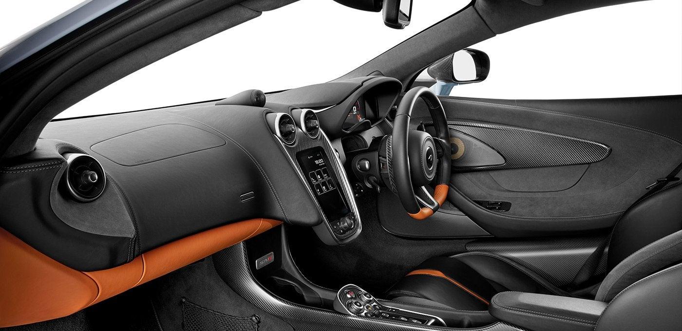 McLaren 570S: interior