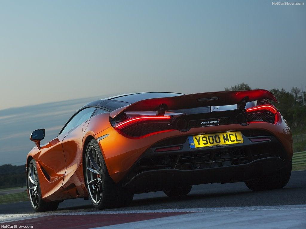 McLaren 720S: trasera