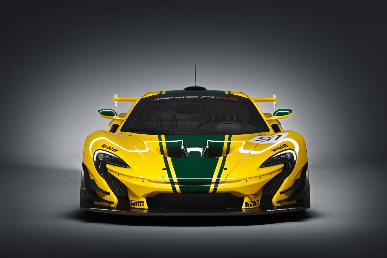 McLaren P1 GTR, desarrollado por y para los circuitos