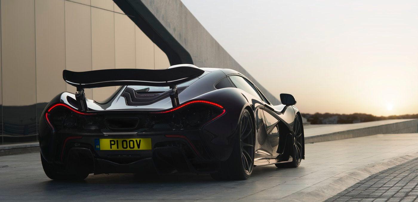 McLaren P1: trasera