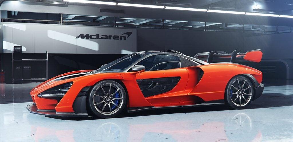 McLaren Senna, el deportivo matriculable más extremo de Woking