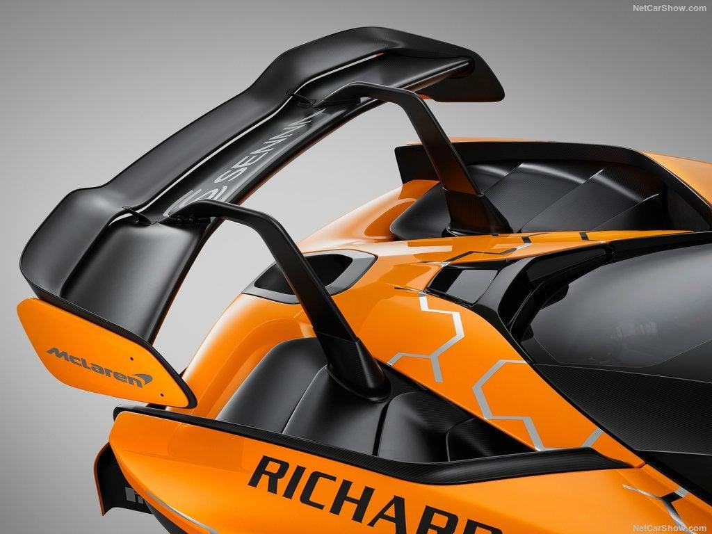 McLaren Senna GTR: alerón