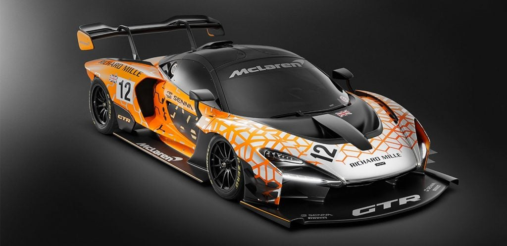 McLaren Senna GTR, el arma definitiva para los circuitos