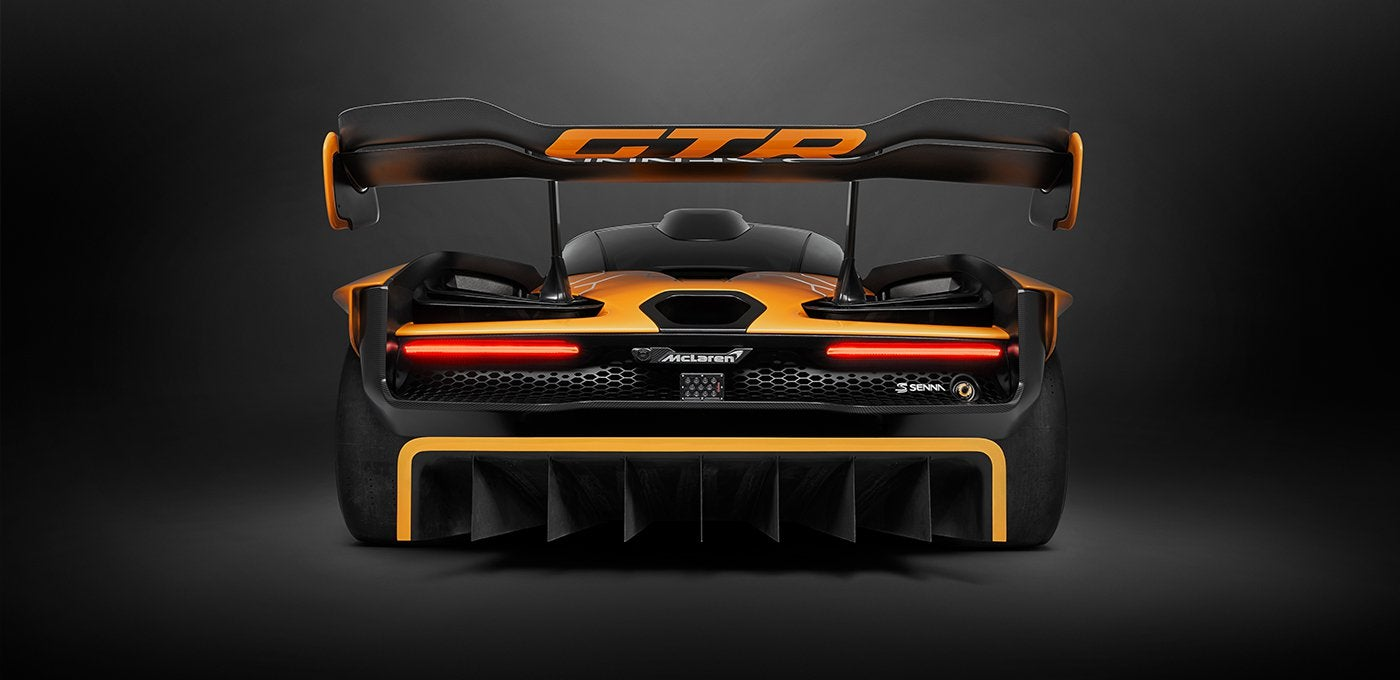 McLaren Senna GTR: trasera