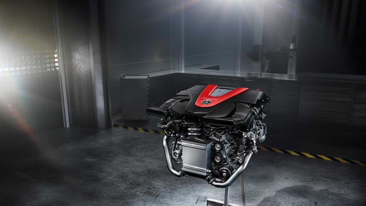 Mercedes-AMG C 43 Coupé: motor