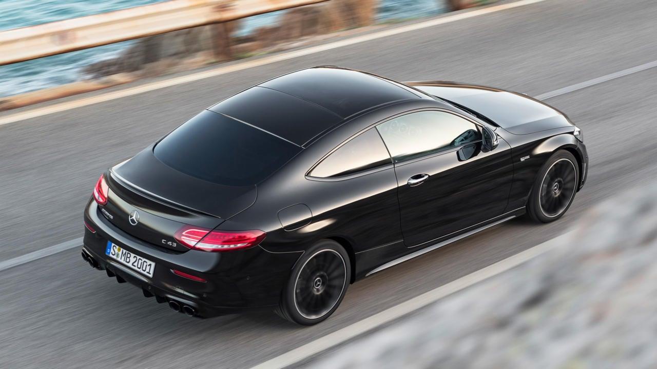 Mercedes-AMG C 43 Coupé: trasera