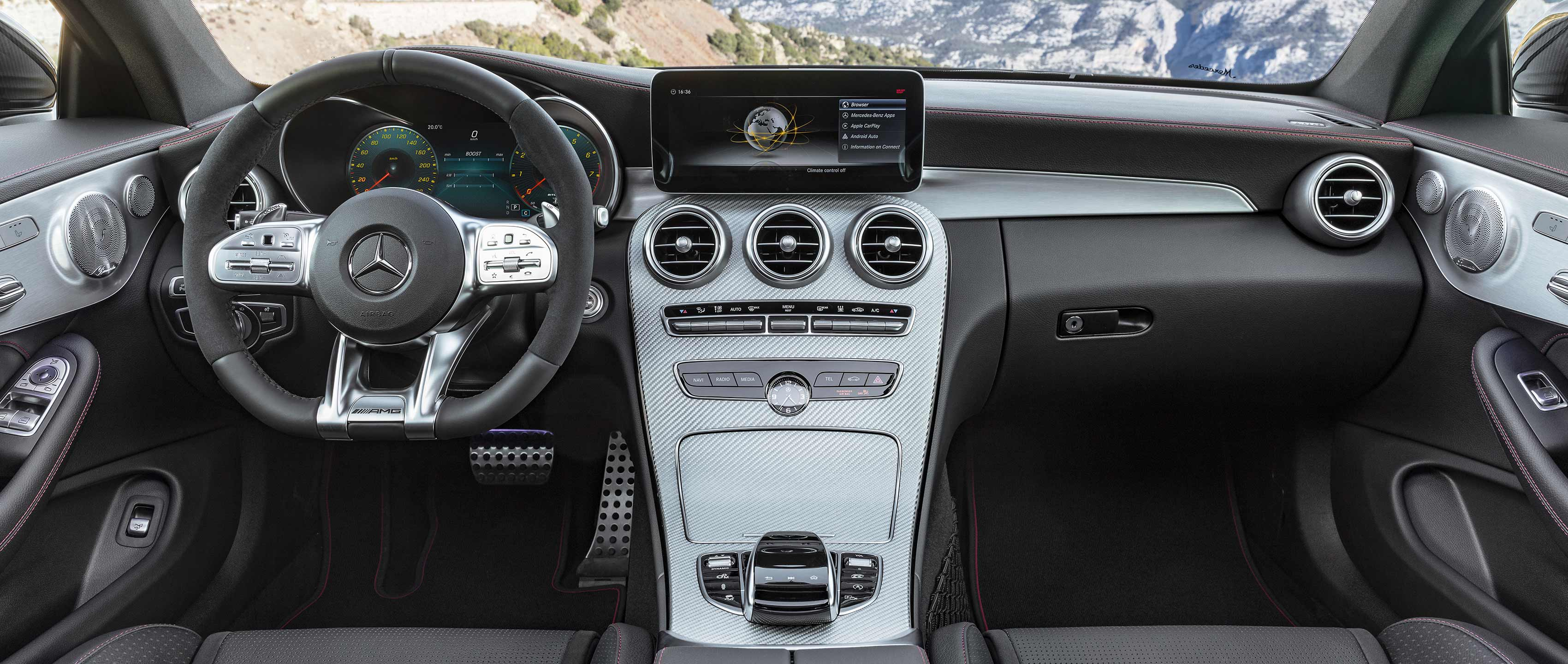 Mercedes-AMG C 43 Coupé: interior