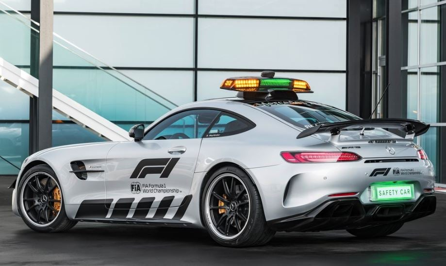 El Mercedes-AMG GT R F1 es el nuevo Safety Car de la Fórmula Uno.