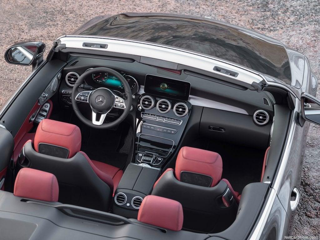Mercedes Clase C Cabrio: vista aérea