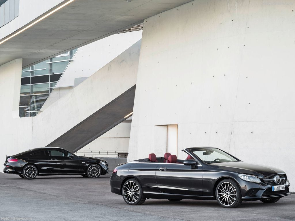 Mercedes Clase C Coupé / Cabrio 2018, los guapos de la familia