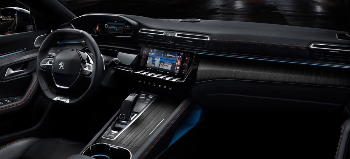 Interior del nuevo Peugeot 508.