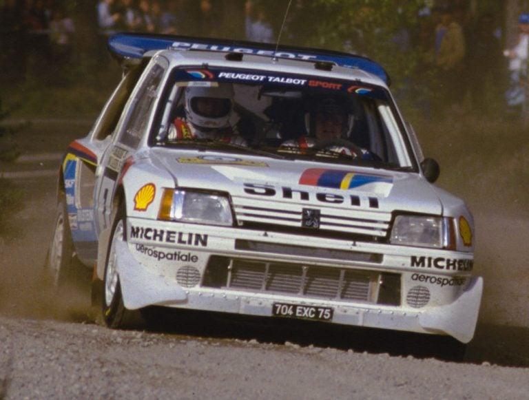 Grupo B: Peugeot 205 T16, potencia a raudales