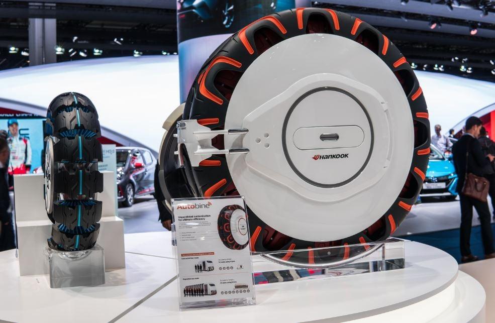 Propuesta de neumáticos del futuro de Hankook.