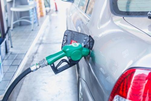 Quedarse sin gasolina en el coche