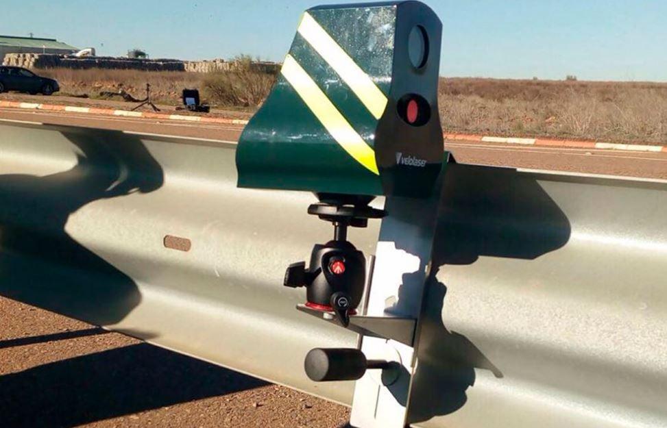 El Velolaser, el nuevo radar de la Guardia Civil
