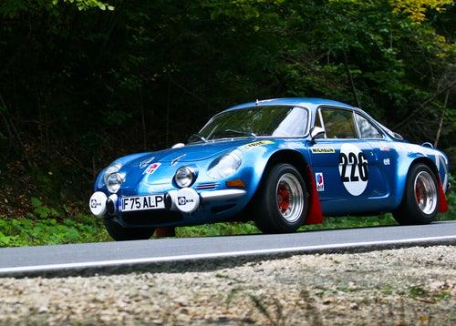 Renault Alpine rally, objetivo de coleccionistas