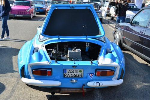 Renault Alpine A110 rally: motor
