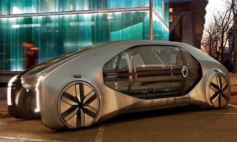 Renault EZ-GO: el taxi del futuro