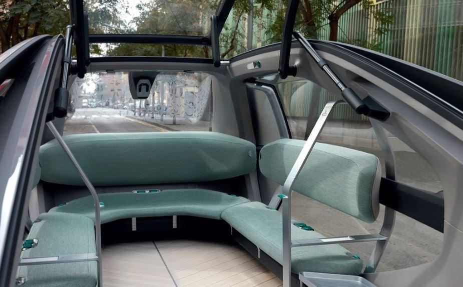Interior del nuevo Renault Ez-Go.