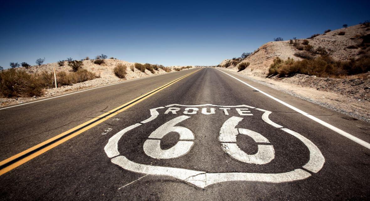 Carretera de la Ruta 66, curiosidades.