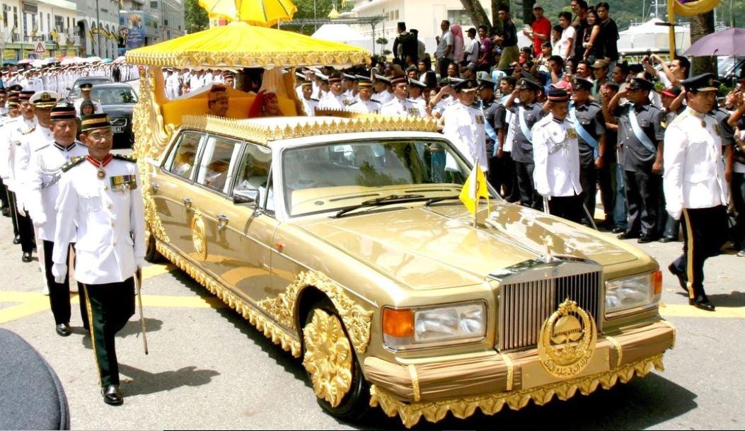 Lacolección de cochesdel sultán de Brunéi