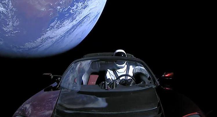 Tesla ha mandado un coche al espacio.