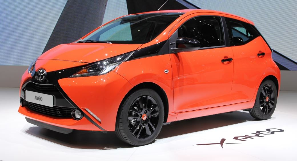 Toyota Aygo: frontal
