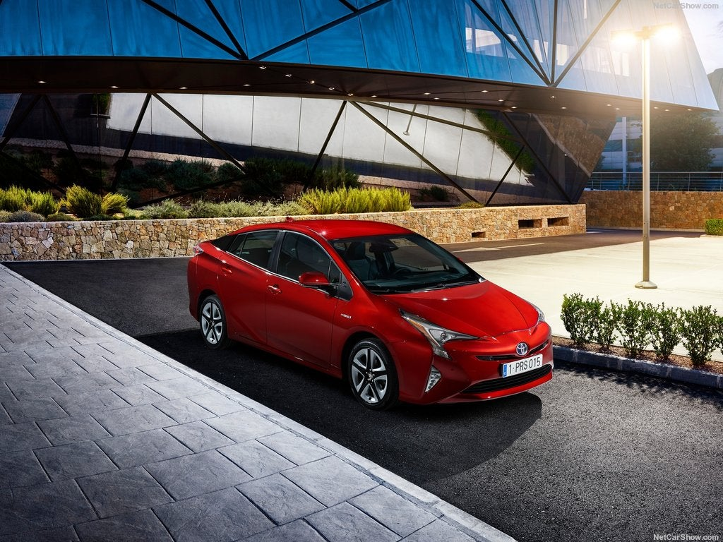 Toyota Prius 2016: frontal